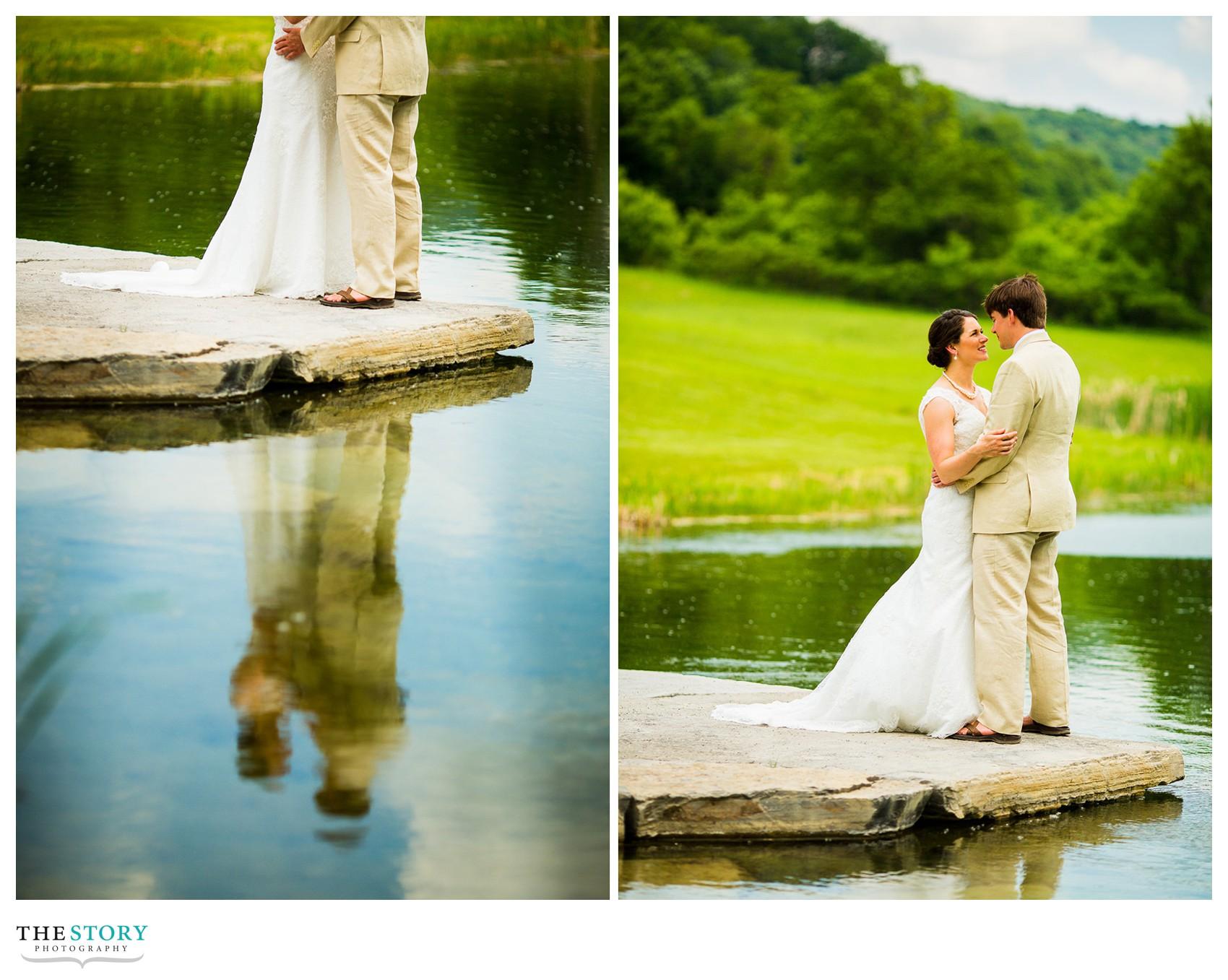 Wolf Oak Acres wedding photos