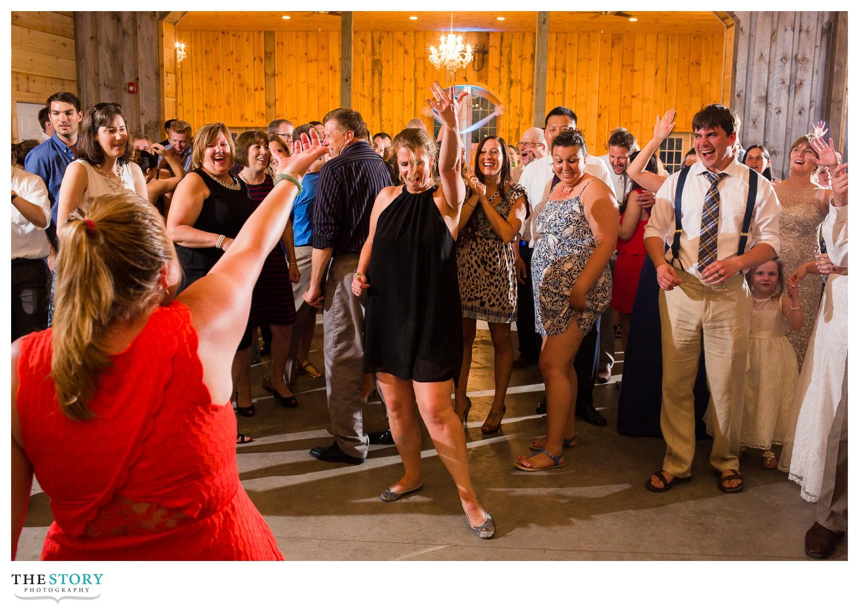 Wolf Oak Acres wedding barn